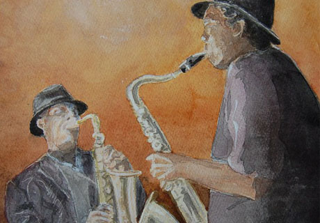Duo saxos